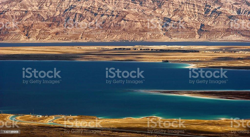 Death sea - Israel stock photo