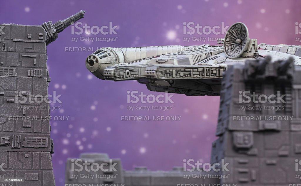 Death Star Guns stock photo