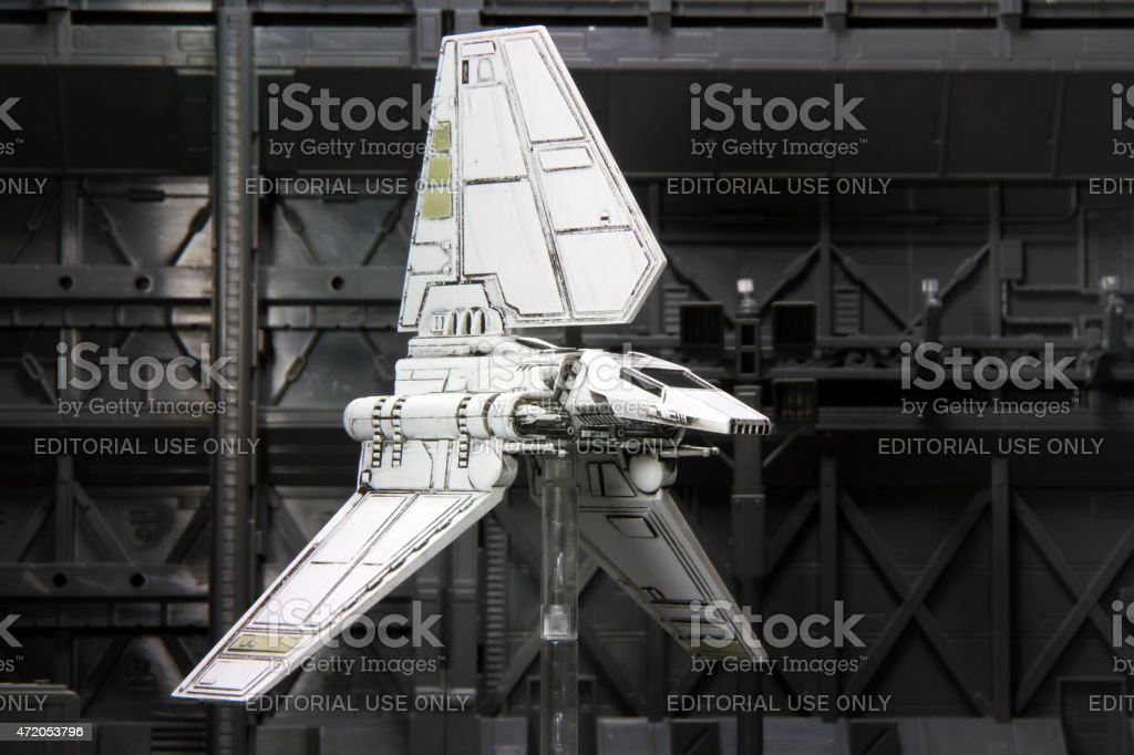 Death Star Inspection stock photo