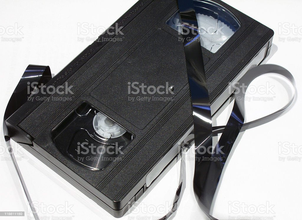 Death to the VHS royalty-free stock photo