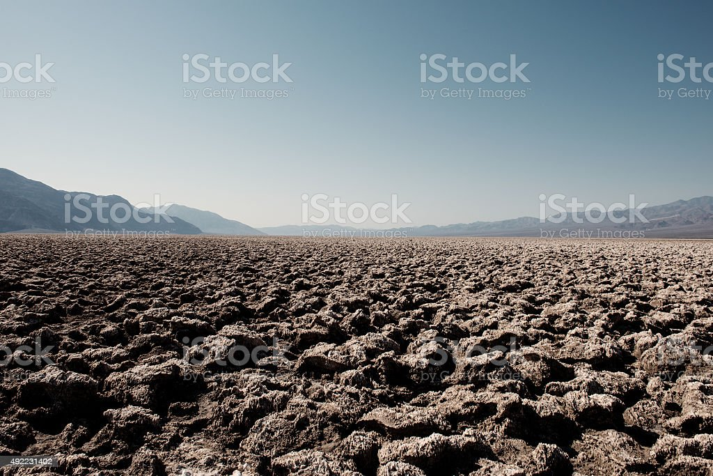 Death Valley, California USA stock photo