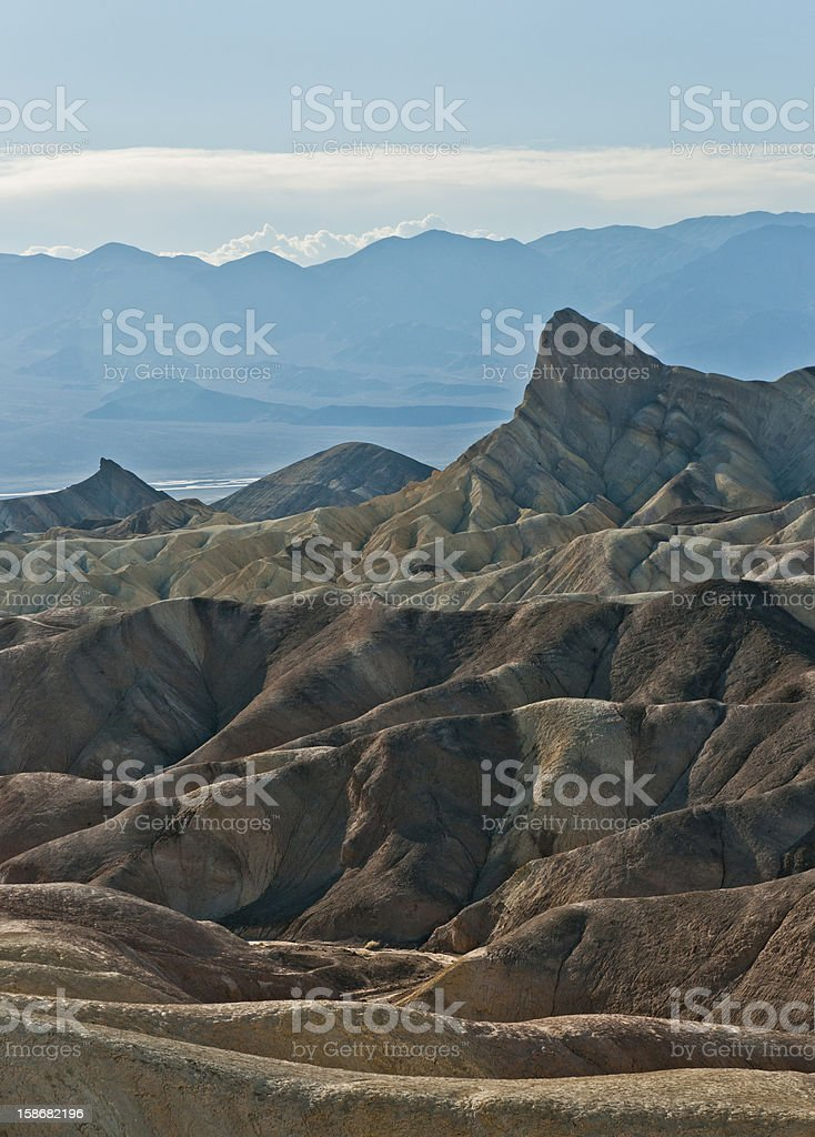 Death valley landscape royalty-free stock photo