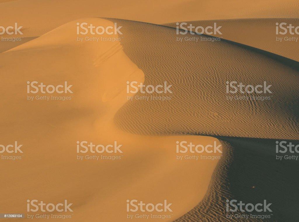 Death Valley Landscape stock photo