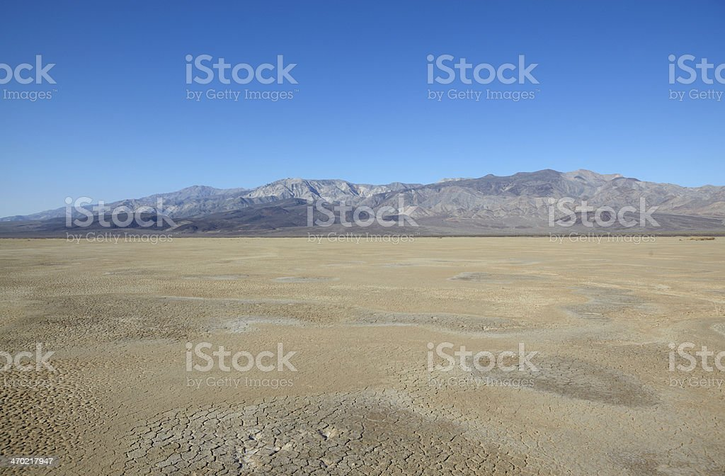 Death Valley National Park : Panamint Mountains stock photo
