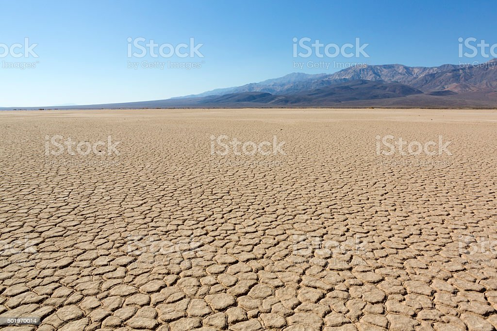 Death Valley National Park, Racetrack Playa stock photo