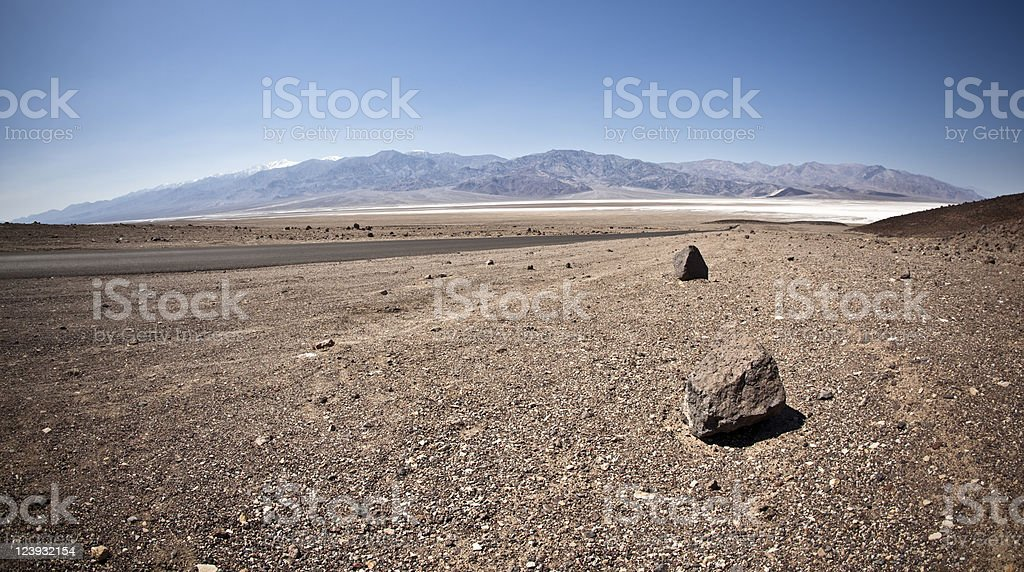 Death Valley NP royalty-free stock photo