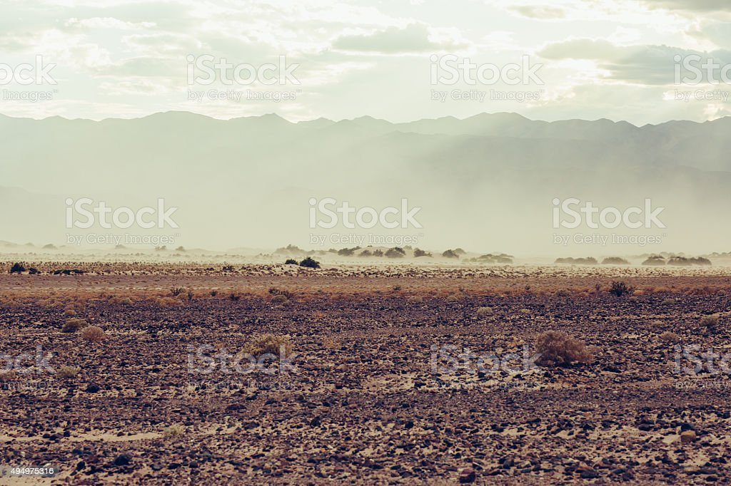 Death Valley stock photo