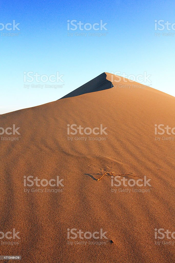 Death Valley Sand Dunes royalty-free stock photo