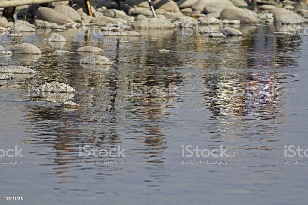 Deban River Bed royalty-free stock photo
