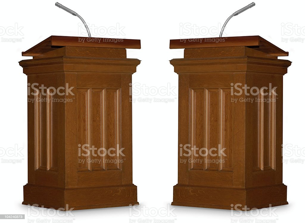 Debate stock photo