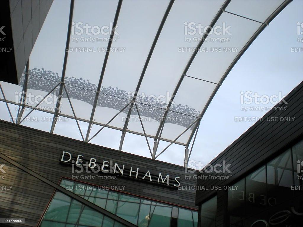 Debenhams stock photo