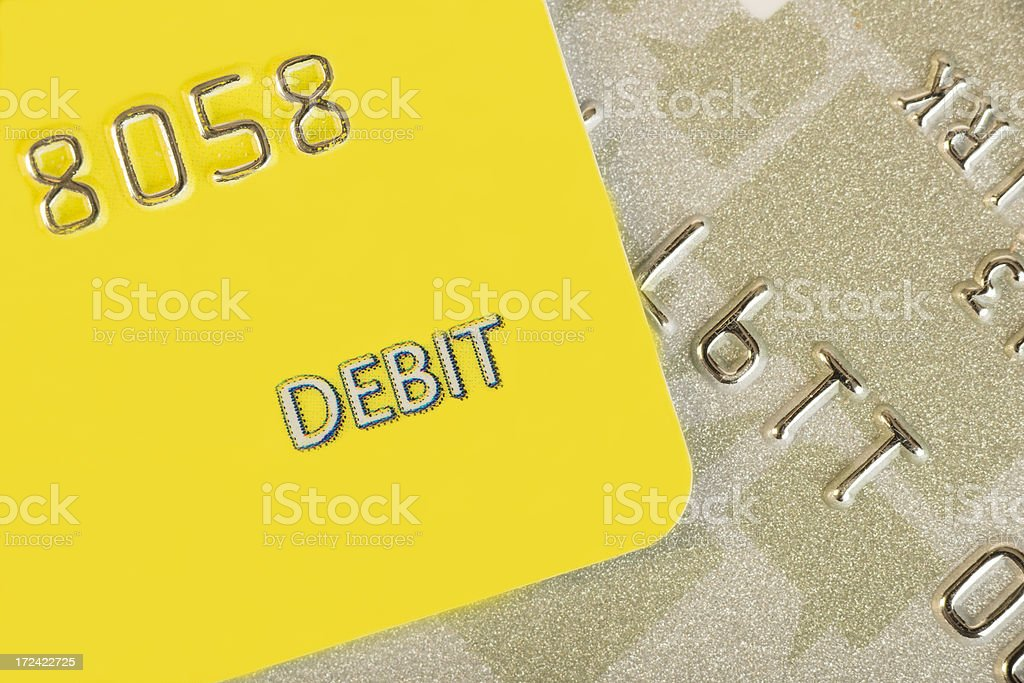 Debit Card royalty-free stock photo