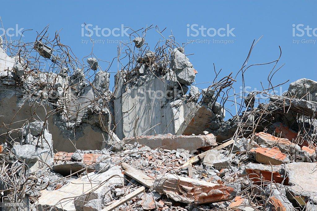 Debris stock photo