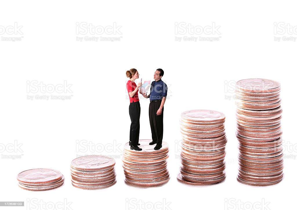 Debt Series: Big Money Problems stock photo
