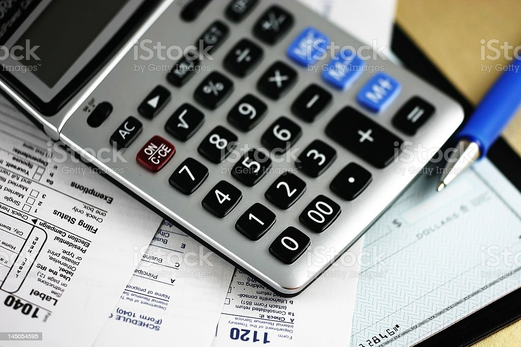 debts royalty-free stock photo