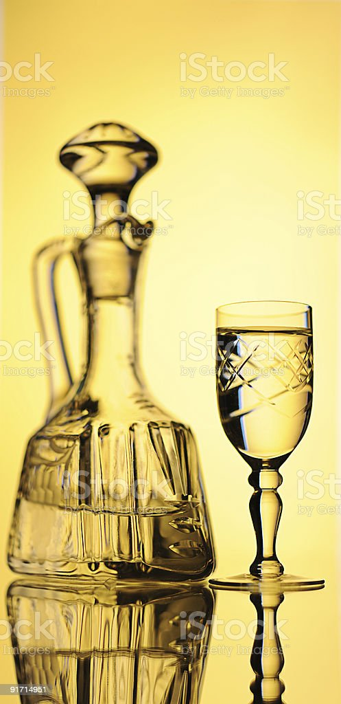 Decanter. royalty-free stock photo