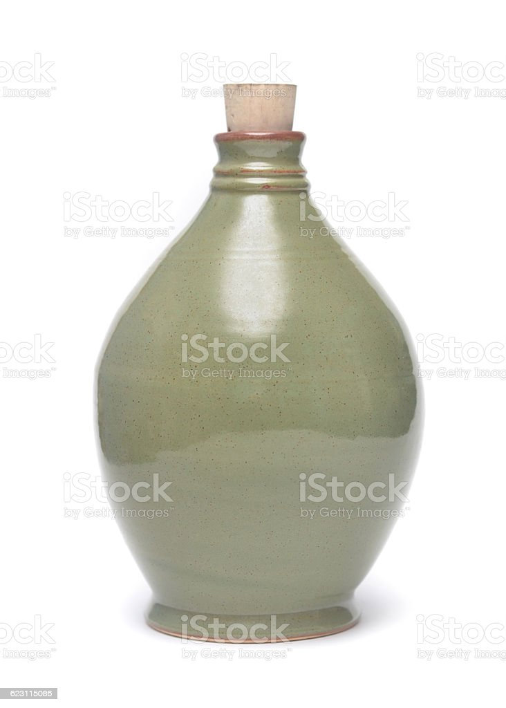 Decanter Pottery stock photo
