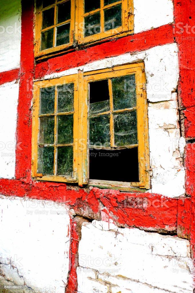 decay Window stock photo