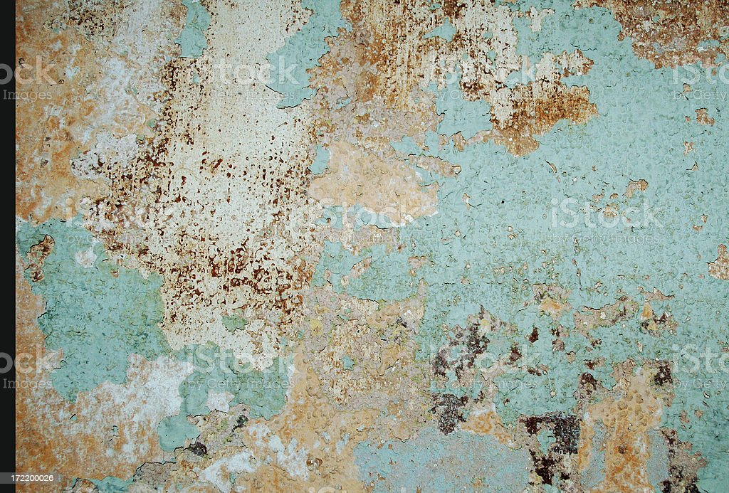 decayed interior royalty-free stock photo