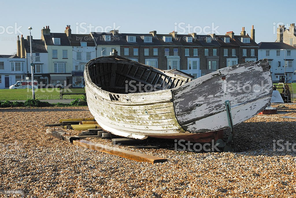 Decaying boat royalty-free stock photo