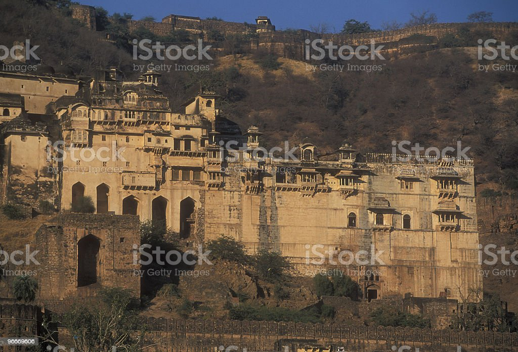 Decaying Indian Palace royalty-free stock photo