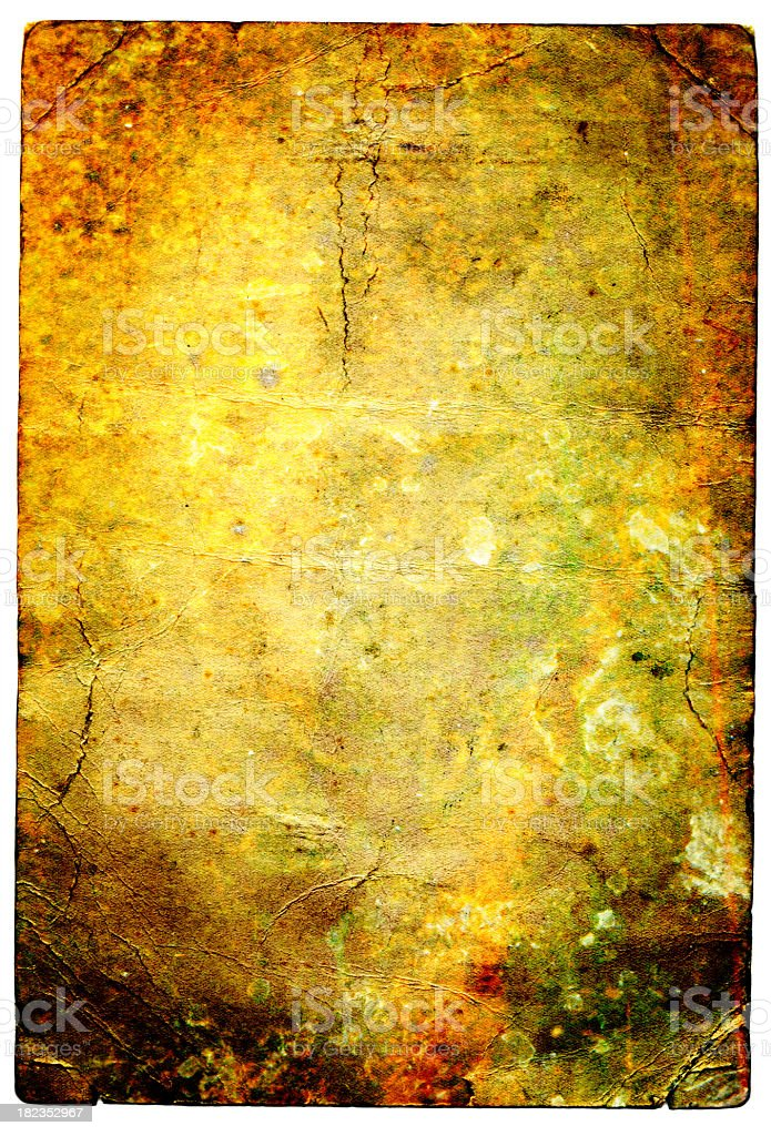 Decaying Paper Background royalty-free stock photo