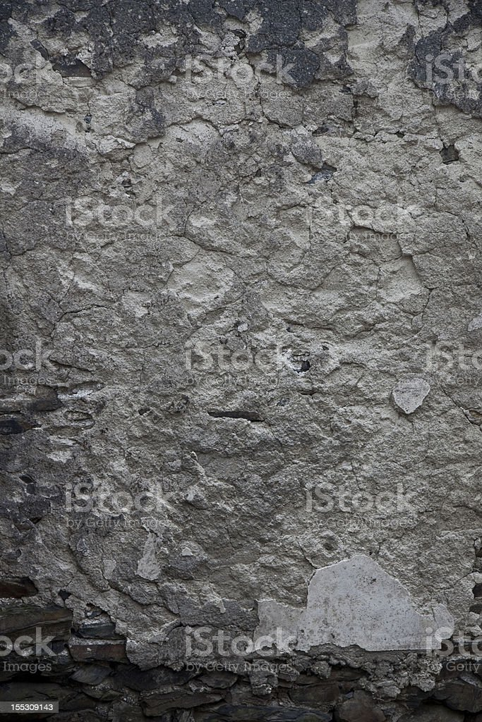 decaying  wall stock photo