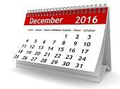 December 2016 - Calendar series