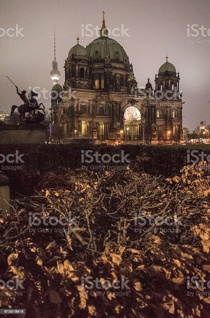 December Dome Berlin stock photo