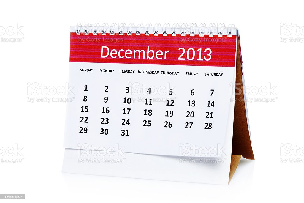 December royalty-free stock photo