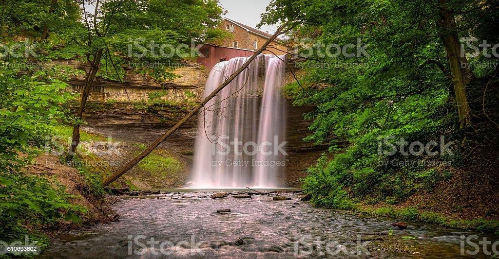 Decew Falls stock photo