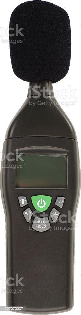 decibel meter stock photo