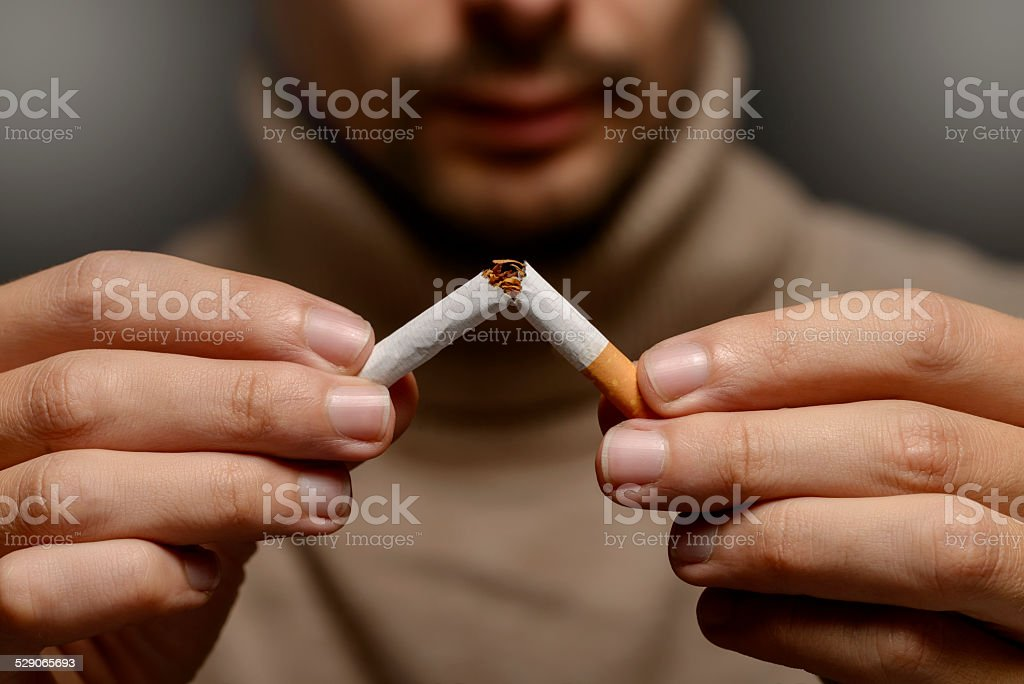 decided to live healthy lifestyle stock photo