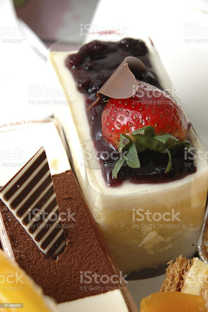 Decilious cheese cake royalty-free stock photo