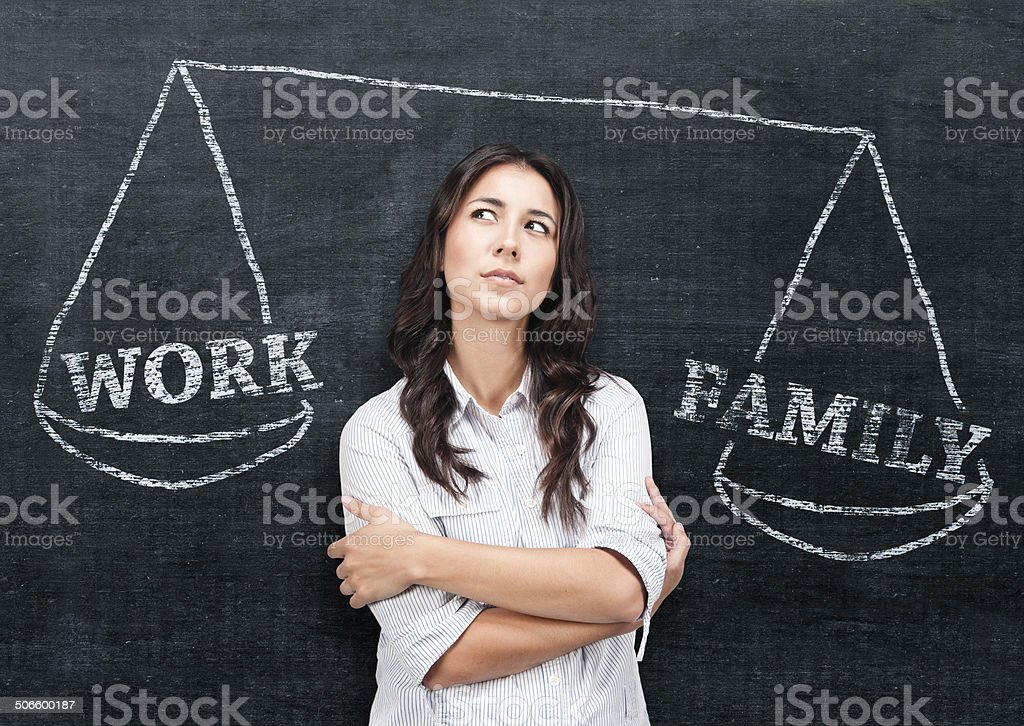 Decision making stock photo