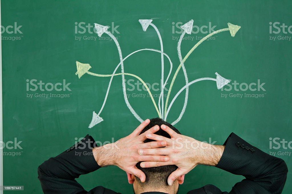 Decisions stock photo