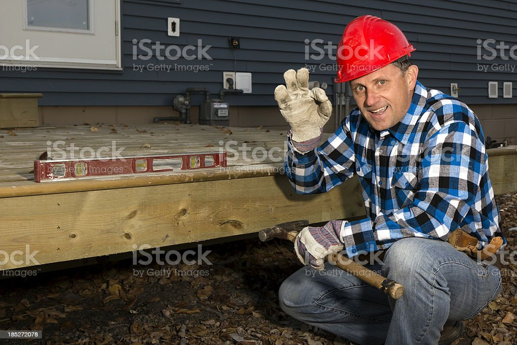 Deck Building royalty-free stock photo