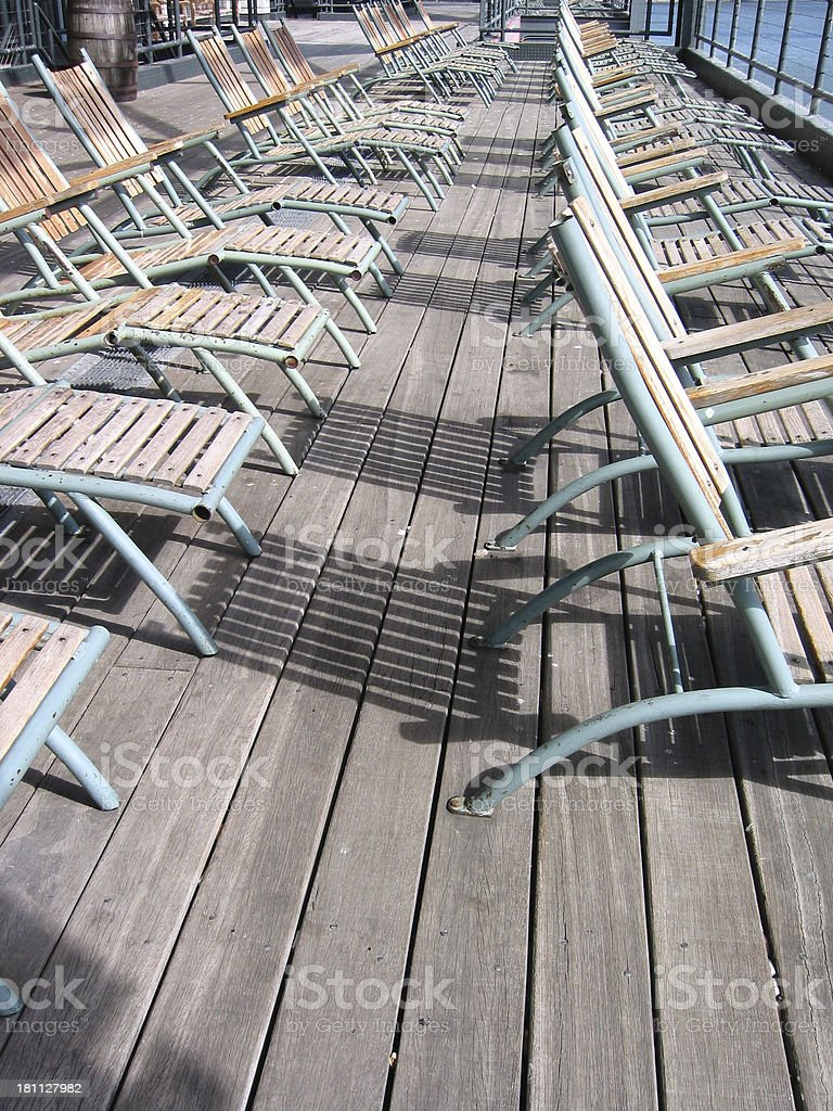 Deck Chair - A royalty-free stock photo
