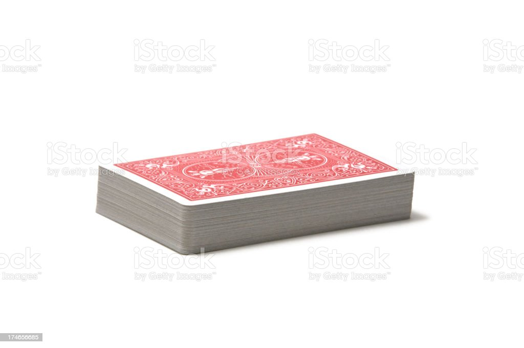 Deck of Cards royalty-free stock photo