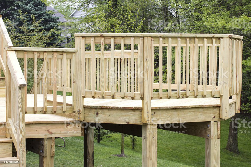 Deck stock photo