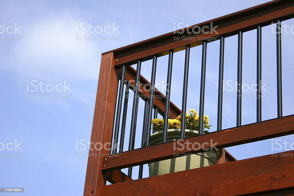 Deck royalty-free stock photo