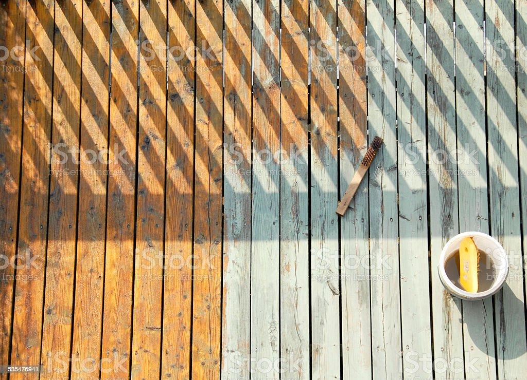 Deck stock photo