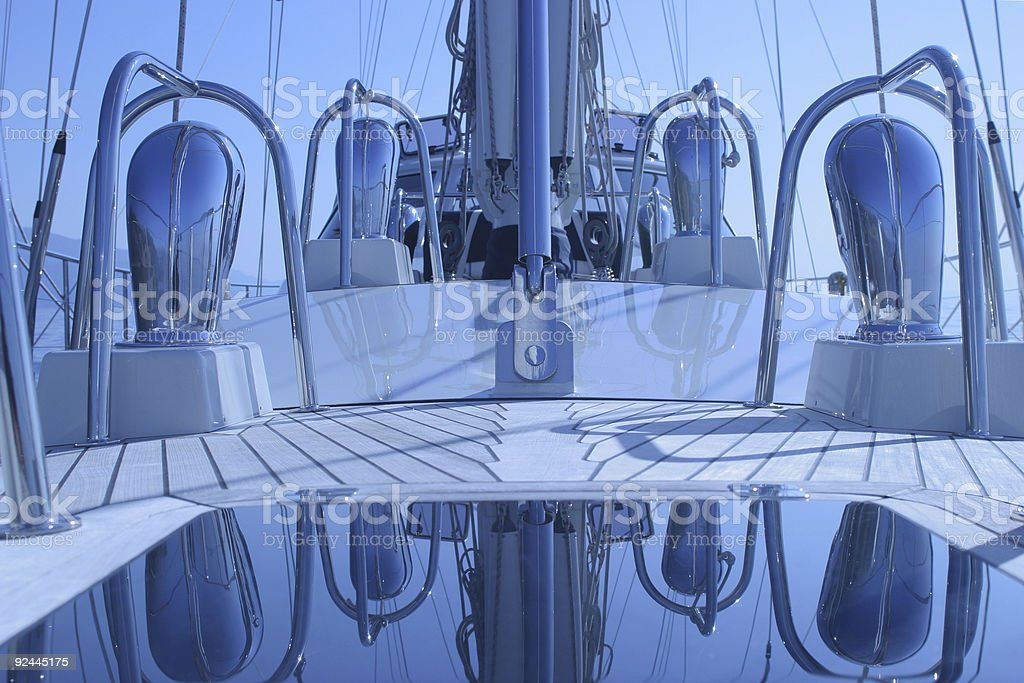 Deck royalty-free stock photo