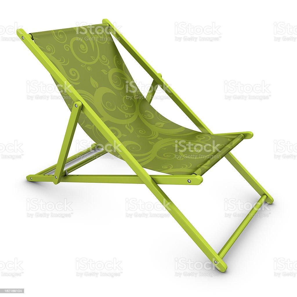 deckchair royalty-free stock photo