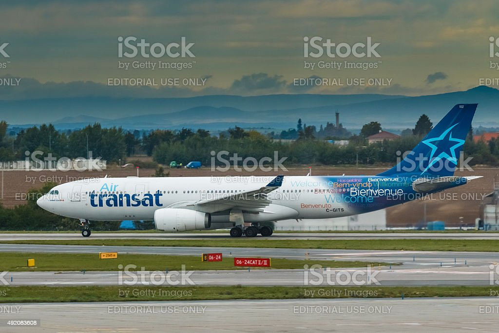 Transat stock photo