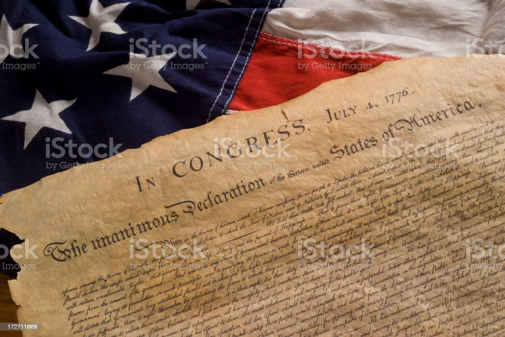 declaration stock photo
