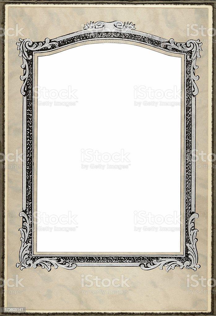 deco frame royalty-free stock photo