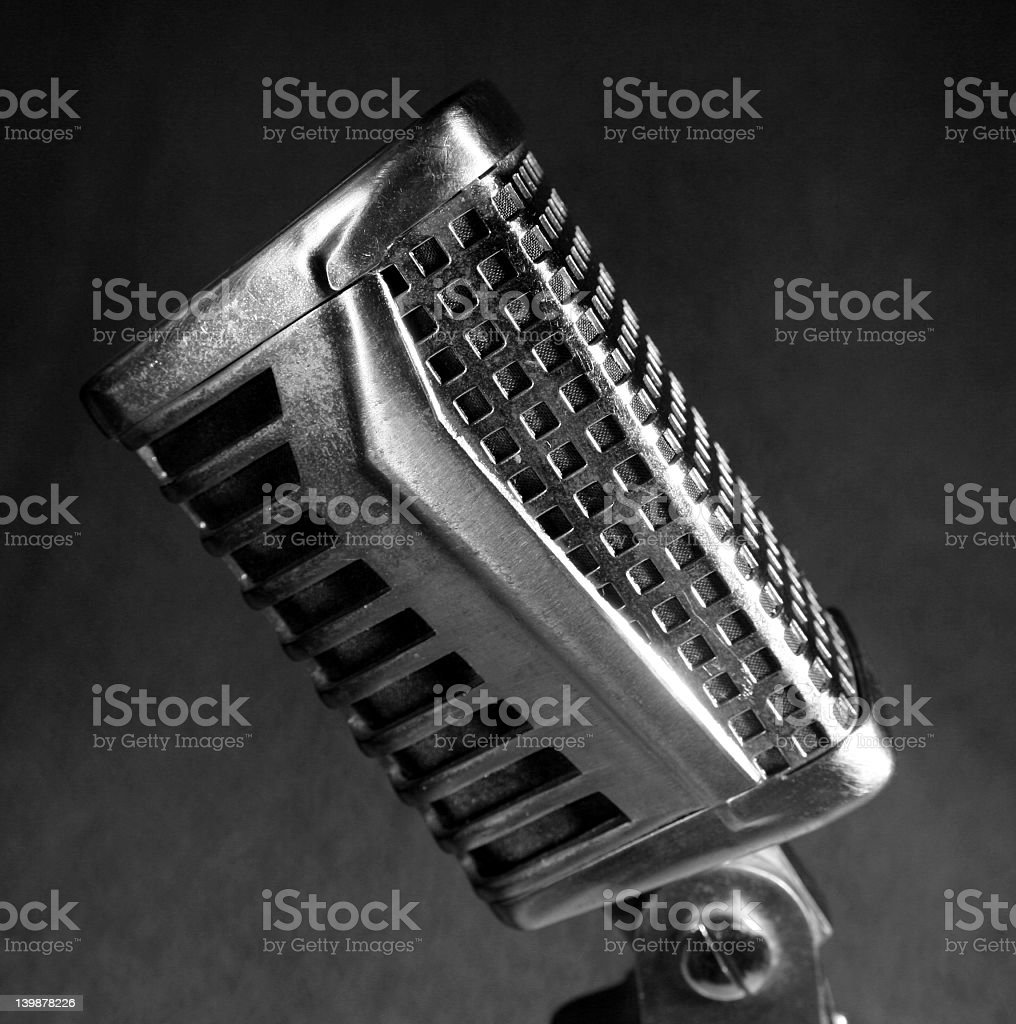 Deco Mic 2 stock photo
