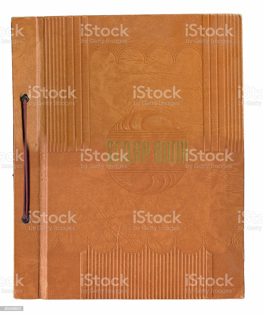 Deco Scrapbook royalty-free stock photo