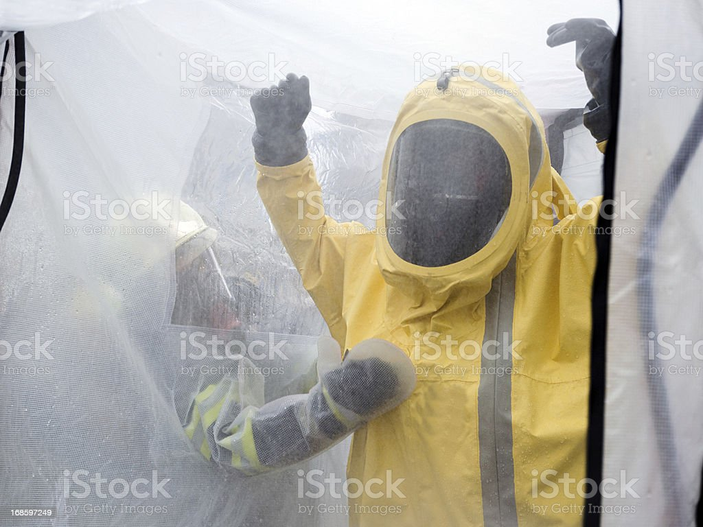 Decontamination royalty-free stock photo